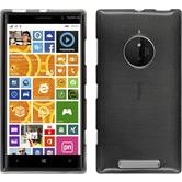 Silicone Case for Nokia Lumia 830 brushed silver