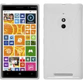 Silicone Case for Nokia Lumia 830 S-Style white