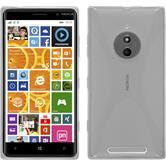Silicone Case for Nokia Lumia 830 X-Style transparent