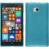 Silicone Case for Nokia Lumia 930 brushed blue