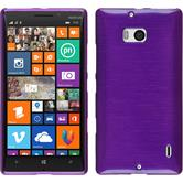 Silicone Case for Nokia Lumia 930 brushed purple