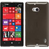 Silicone Case for Nokia Lumia Icon transparent black