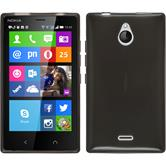 Silicone Case for Nokia X2 transparent black