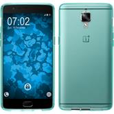 Silicone Case for OnePlus OnePlus 3 crystal-case turquoise