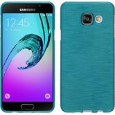 Silicone Case for Samsung Galaxy A3 (2016) brushed blue