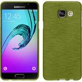 Silicone Case for Samsung Galaxy A3 (2016) brushed pastel green