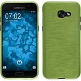 Silicone Case Galaxy A3 2017 brushed pastel green