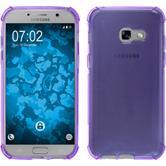 Silicone Case Galaxy A3 2017 Shock-Proof purple