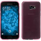 Silicone Case Galaxy A3 2017 transparent pink