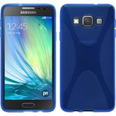 Silicone Case for Samsung Galaxy A3 X-Style blue