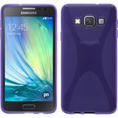 Silicone Case for Samsung Galaxy A3 X-Style purple