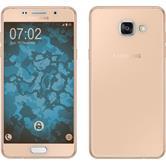 Silicone Case for Samsung Galaxy A5 (2016) A510 360° Fullbody gold