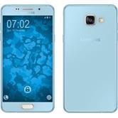 Silicone Case for Samsung Galaxy A5 (2016) A510 360° Fullbody light blue