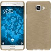 Silicone Case for Samsung Galaxy A5 (2016) brushed gold