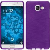 Silicone Case for Samsung Galaxy A5 (2016) brushed purple