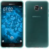 Silicone Case for Samsung Galaxy A5 (2016) transparent turquoise