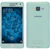 Silicone Case for Samsung Galaxy A5 (A500) 360° Fullbody light blue