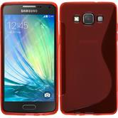 Silicone Case for Samsung Galaxy A5 S-Style red