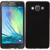 Silicone Case for Samsung Galaxy A5 transparent black