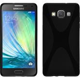 Silicone Case for Samsung Galaxy A5 X-Style black