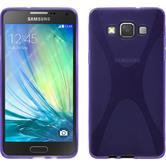 Silicone Case for Samsung Galaxy A5 X-Style purple