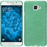 Silicone Case for Samsung Galaxy A7 (2016) brushed green