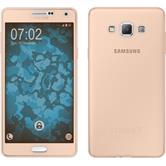 Silicone Case for Samsung Galaxy A7 (A700) 360° Fullbody gold
