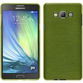 Silicone Case for Samsung Galaxy A7 brushed pastel green