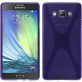 Silicone Case for Samsung Galaxy A7 X-Style purple