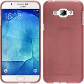 Silicone Case for Samsung Galaxy A8 (2015) brushed pink