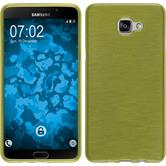 Silicone Case for Samsung Galaxy A9 (2016) brushed pastel green
