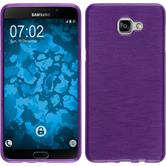Silicone Case for Samsung Galaxy A9 (2016) brushed purple