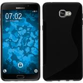 Silicone Case for Samsung Galaxy A9 (2016) S-Style black