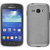 Silicone Case for Samsung Galaxy Ace 3 brushed white