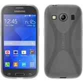 Silicone Case for Samsung Galaxy Ace 4 X-Style transparent