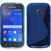 Silicone Case for Samsung Galaxy Ace Style S-Style blue