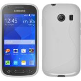 Silicone Case for Samsung Galaxy Ace Style S-Style white