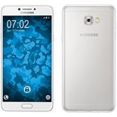 Silicone Case Galaxy C7 Pro Slimcase transparent + protective foils