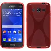 Silicone Case for Samsung Galaxy Core 2 X-Style red