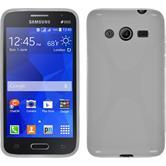 Silicone Case for Samsung Galaxy Core 2 X-Style white