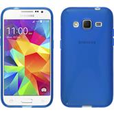 Silicone Case for Samsung Galaxy Core Prime X-Style blue