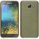 Silicone Case for Samsung Galaxy E5 brushed gold