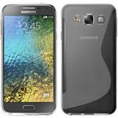 Silicone Case for Samsung Galaxy E5 S-Style transparent