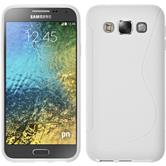 Silicone Case for Samsung Galaxy E5 S-Style white
