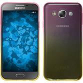 Silicone Case for Samsung Galaxy E7 Ombrè Design:01