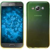Silicone Case for Samsung Galaxy E7 Ombrè Design:03