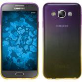 Silicone Case for Samsung Galaxy E7 Ombrè Design:05