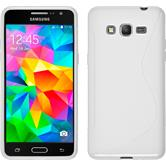 Silicone Case for Samsung Galaxy Grand Prime S-Style white