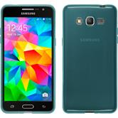 Silicone Case for Samsung Galaxy Grand Prime transparent turquoise