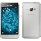 Silicone Case for Samsung Galaxy J1 (2016) J120 360° Fullbody gray